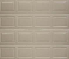 Raised and Fielded Garage Door