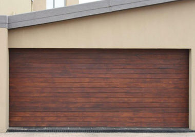 Hydro wooden garage door